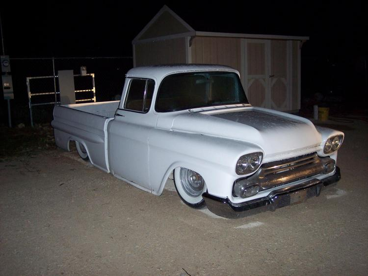 Chevy pick up  1955 - 1959 custom & mild custom User1710