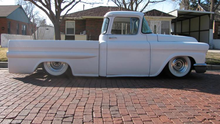 Chevy pick up  1955 - 1959 custom & mild custom User1711