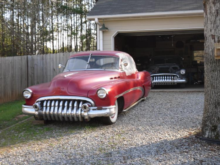 Buick 1950 -  1954 custom and mild custom galerie User2110
