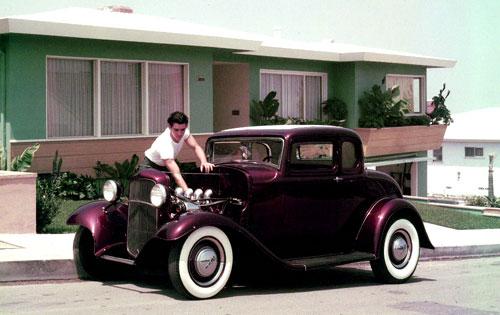 "Hot rod in street - Vintage pics - ""Photos rétros"" -  User3510"