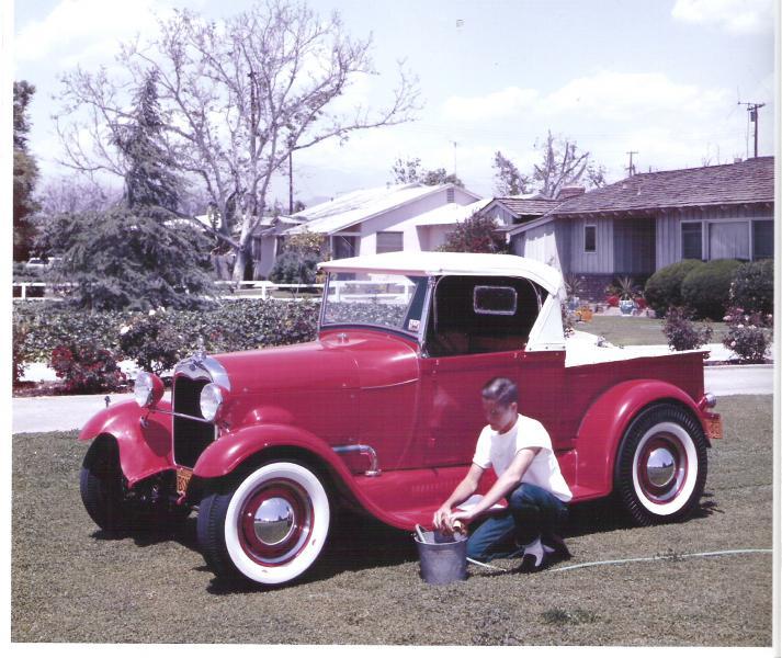 "Hot rod in street - Vintage pics - ""Photos rétros"" -  User5610"