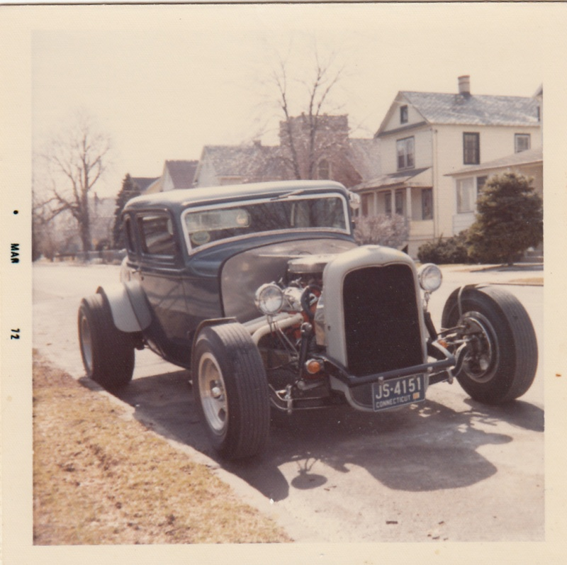 """Hot rod in street - Vintage pics - """"Photos rétros"""" -  Vaun_010"""