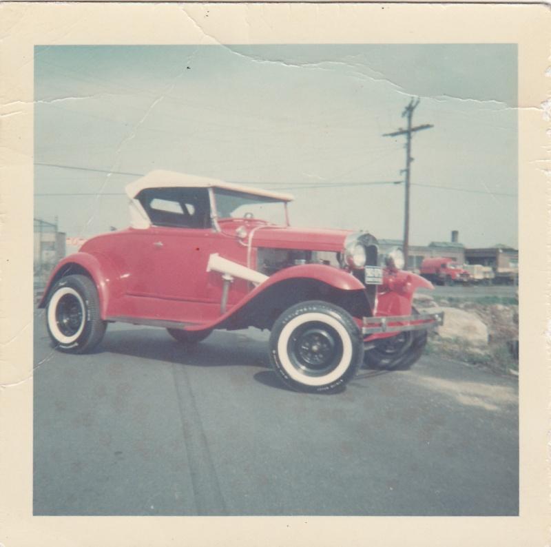 """Hot rod in street - Vintage pics - """"Photos rétros"""" -  Vaun_011"""