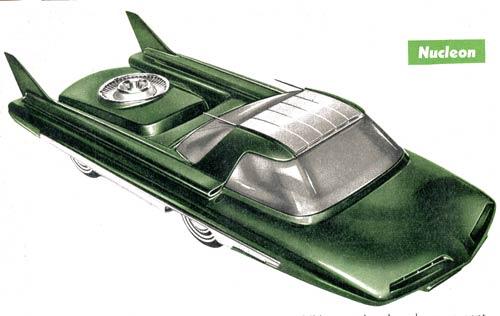 Ford Nucleon - concept car 1958 Voitur10