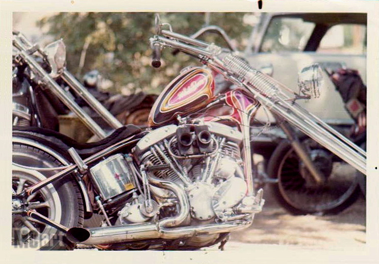 Photo Vintage -vintage pics - Chopper & Bobber - Page 2 White-10
