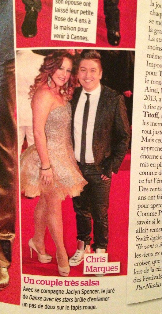 NMA's 2013 Chris Marques et Jaclyn Spencer dans Pulic Bchmhe10
