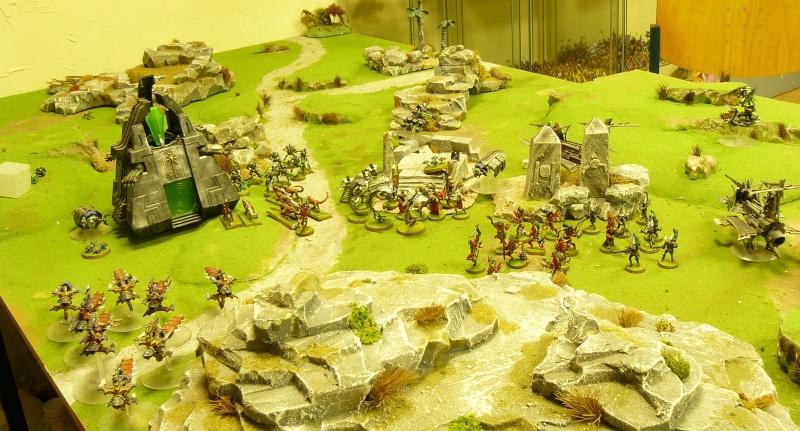 Warhammer 40K. Galerie de Batailles ! P1170438