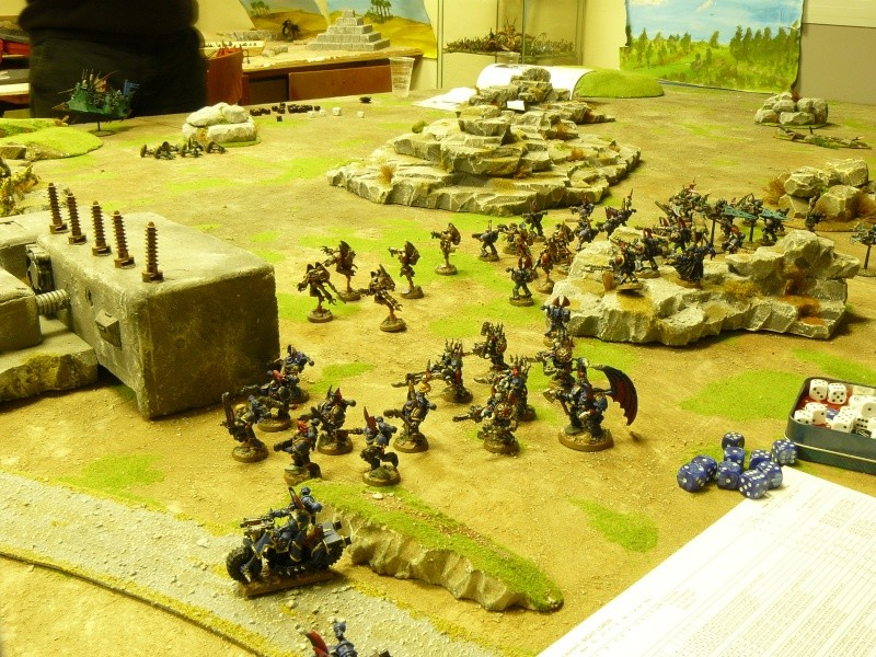 Warhammer 40K. Galerie de Batailles ! P1170541