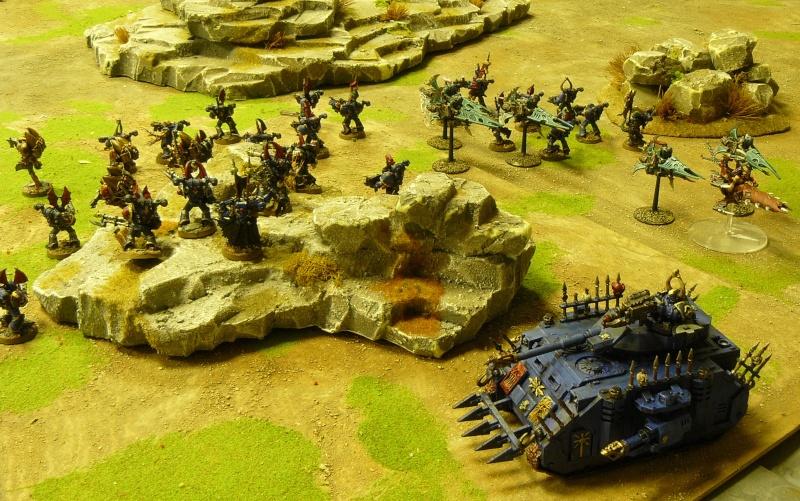 Warhammer 40K. Galerie de Batailles ! P1170542