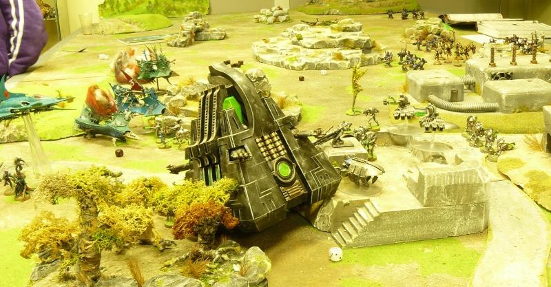 Warhammer 40K. Galerie de Batailles ! P1170553