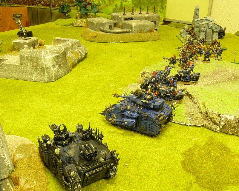 Warhammer 40K. Galerie de Batailles ! P1170742