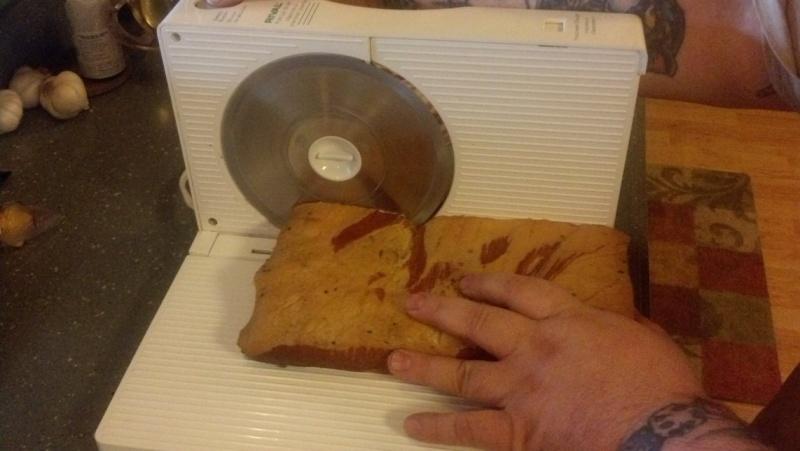Charcuterie (home made bacon) Sclici10