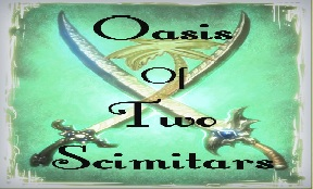 Oasis Of Two Scimitars