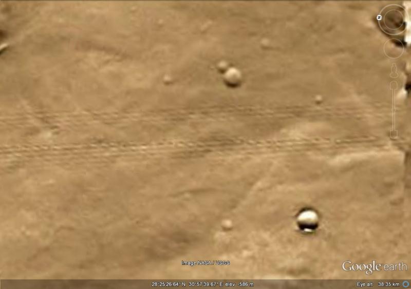 Anomalie martienne ? Traces11