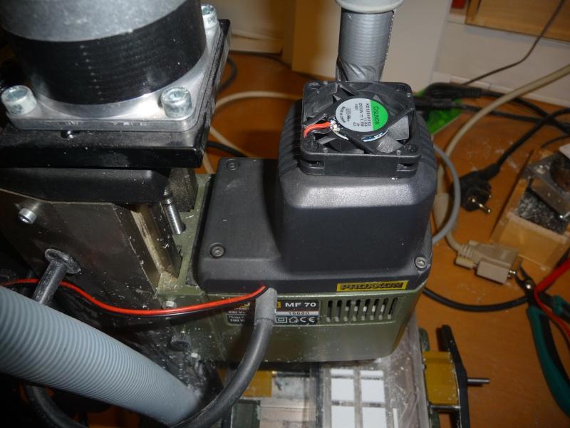 CNC de la proxxon mf 70 à la bzt pfk px 605 P1130312