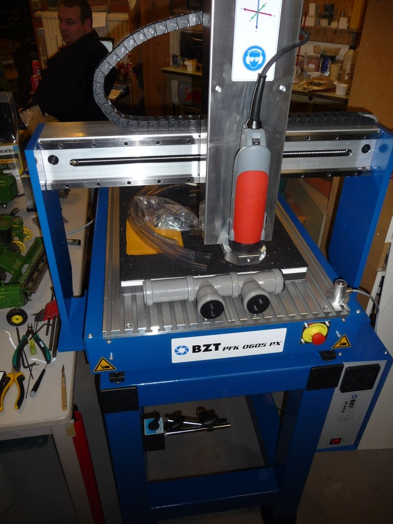 CNC de la proxxon mf 70 à la bzt pfk px 605 P1130616