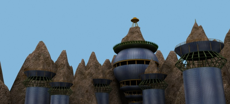 Cloud Village [WIP] C_v510