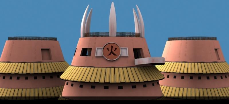 Konoha: Hokage Building (WIP) R510