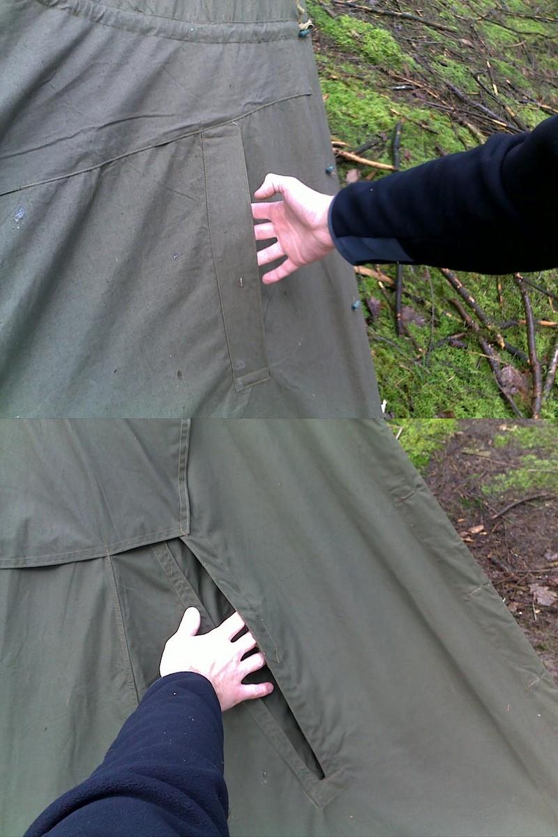 [Poncho / Tente]  Plashch Palatka  Compar13