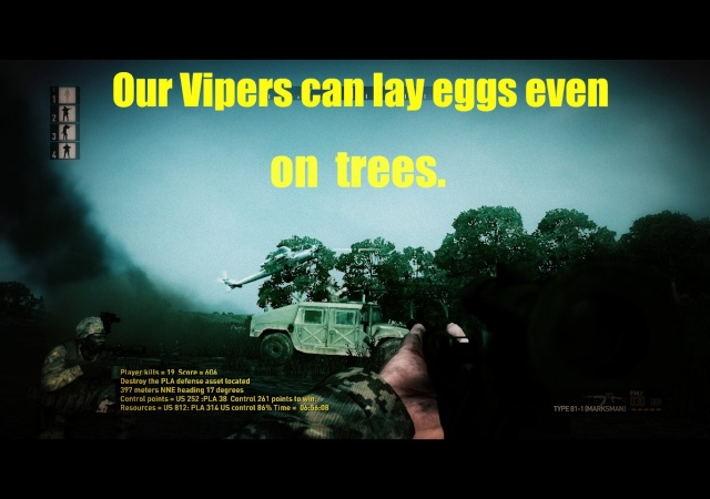 Postcards from TIW. Vipers10