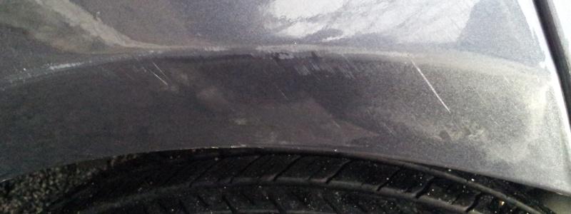Graffi da strusciata - paraurti anteriore Gpunto 410