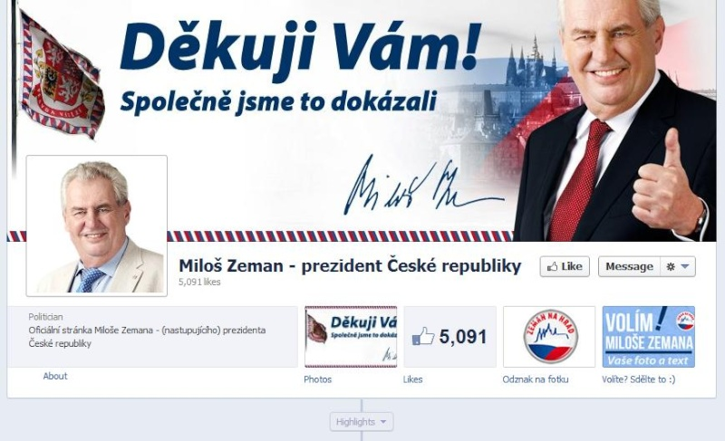Volba Prezidenta  III 00012210