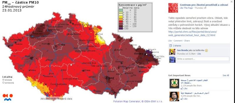 Informace o kvalitě ovzduší v ČR 45421210