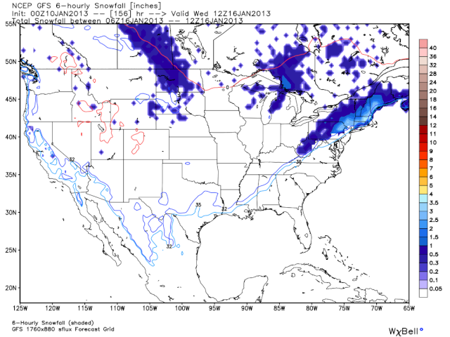 Pattern Change WILL Happen, Snow Around The 16th? Snow10