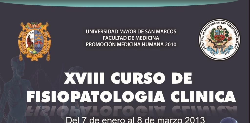 Curso de Fisiopatología Clínica 2013