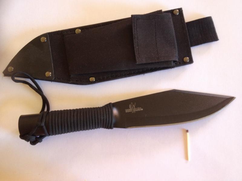 mes 3 couteaux. Bushma13