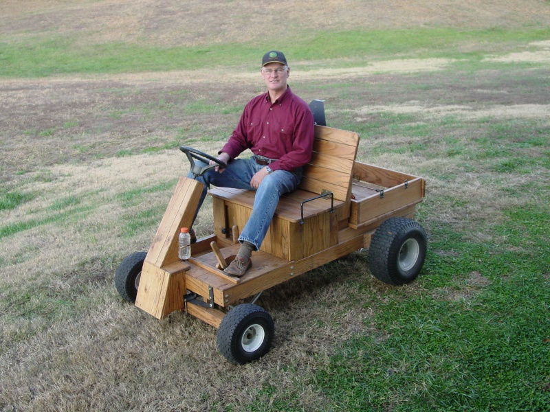 Two Seat Car from old MTD Mower Power_14