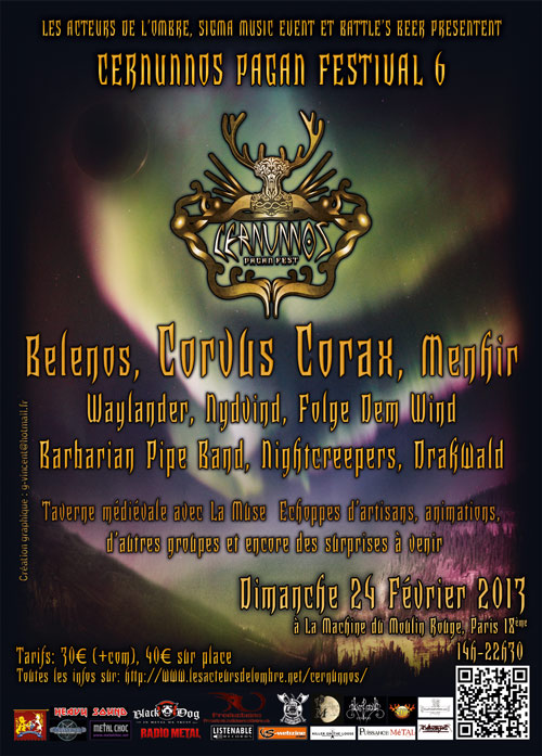 24/02/2013 Cernunnos Pagan Fest 6, Paris, Infos Pratiques Cernun12