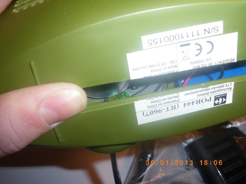 [Test Matériel] Radio/Lampe à dynamo de chez carouf Imgp0011