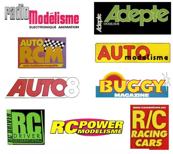 Recherche magazines sur les voitures RC - Auto RCM - Auto 8 - Buggy Mag - RC Power - RC Racing Car .... Liste_11