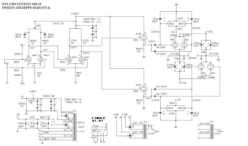 OTL 6C33 da 70W Bebo Marotta - autocostruzione  Otl20c10