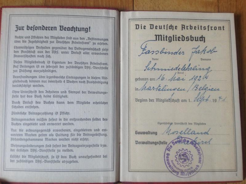 Identif document civil belge, livre traduction, kit nettoyage, livre travail Img_0712