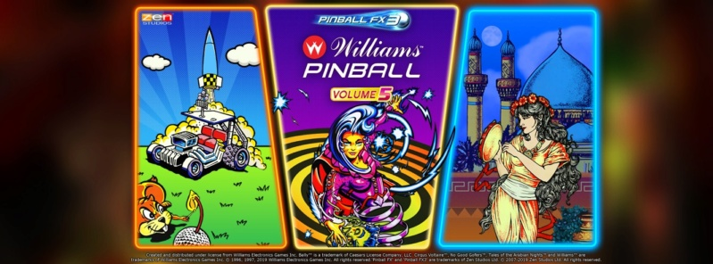 Williams Pinball Volume 5 77397910