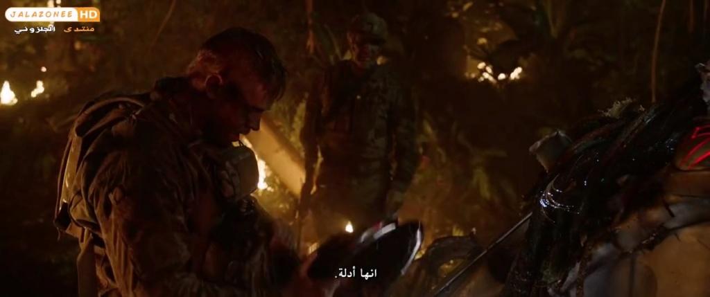 حصريا فيلم الاكشن والمغامرة والرعب المنتظر The Predator (2018) 720p WEB-DL مترجم بنسخة الويب ديل 1186