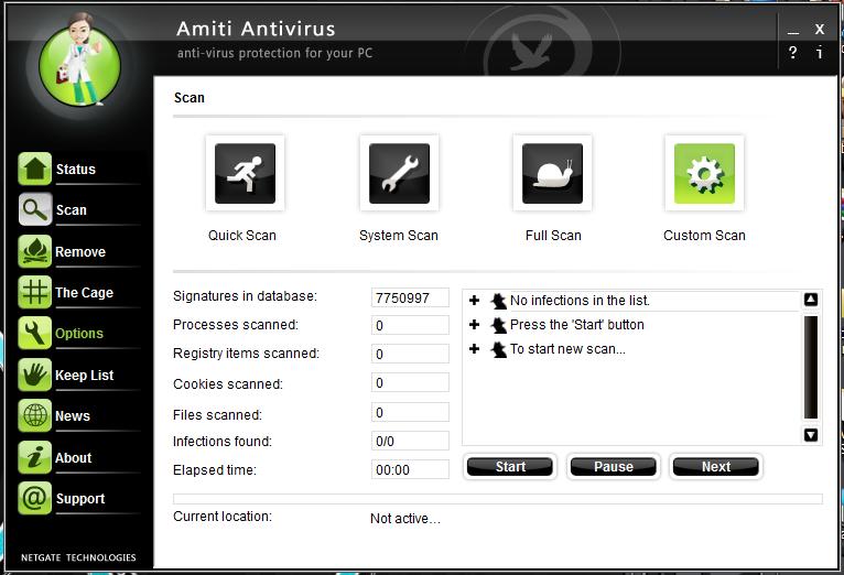 حصريا برنامج الحماية الرائع NETGATE Amiti Antivirus 2019 25.0.230 + License Key باحدث اصدراته + التفعيل 137