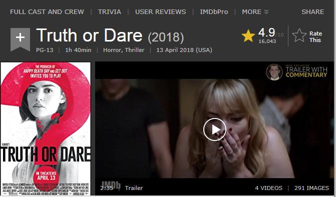 حصريا فيلم الرعب والاثارة الجميل Truth or Dare (2018) 720p BluRay مترجم بنسخة البلوري 2018-077
