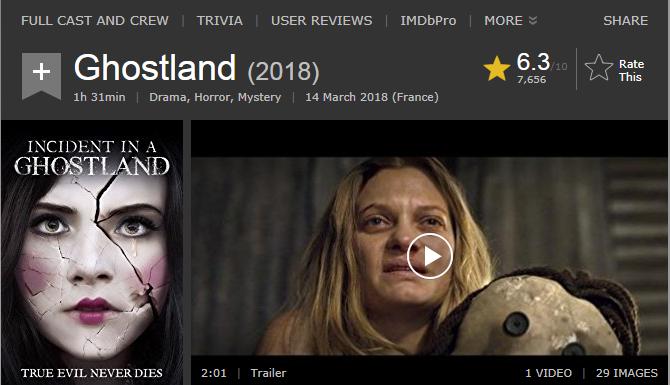 حصريا فيلم الدراما والرعب والجريمة الدموي الرائع Ghostland (2018) 720p BluRay مترجم بنسخة البلوري 2018-083