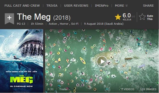 حصريا فيلم الاكشن والرعب والخيال المنتظر The Meg (2018) 720p WEB-DL مترجم بنسخة الويب ديل 2018-183