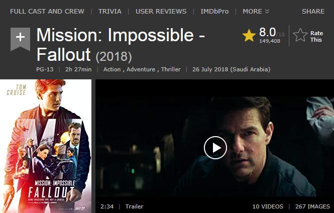 حصريا فيلم الاكشن والمغامرة والاثارة المنتظر Mission Impossible  Fallout (2018)  720p WEB-DL مترجم بنسخة الويب ديل 2018-269