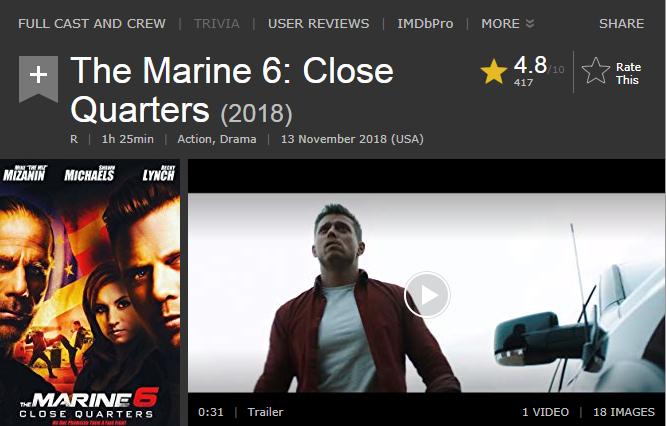 حصريا فيلم الاكشن والدراما الجميل The Marine 6 Close Quarters (2018) 720p BluRay مترجم بنسخة البلوري 2018-283