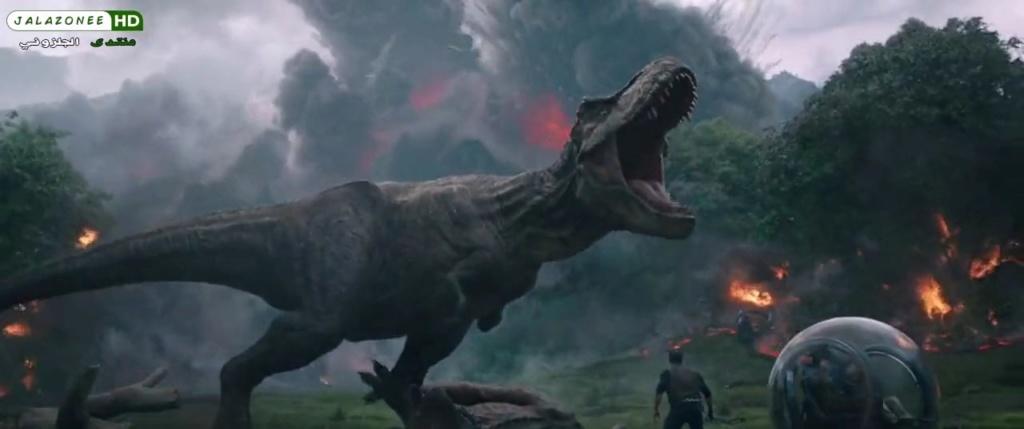 حصريا فيلم الاكشن والمغامرة والخيال الرهيب والمنتظر Jurassic World Fallen King (2018)  720p BluRay مترجم بنسخة البلوري 784