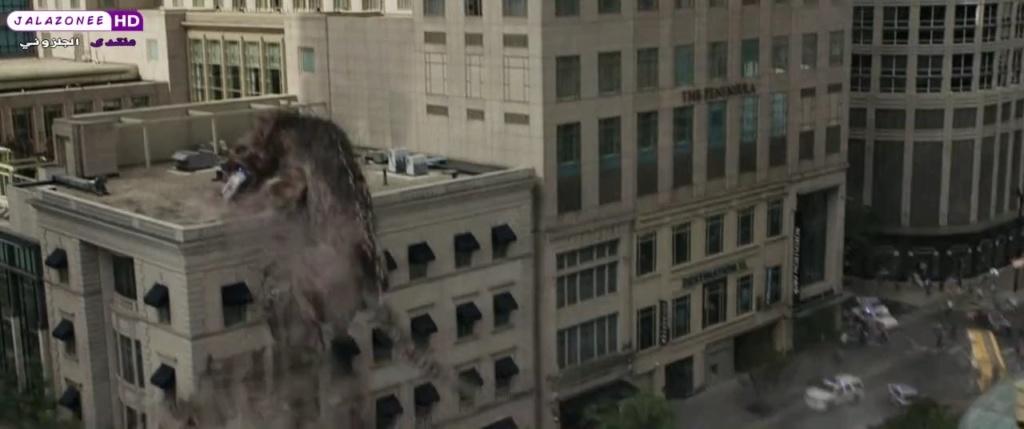 حصريا فيلم الاكشن والمغامرة والخيال المنتظر Rampage (2018) 720p BluRay مترجم بنسخة البلوري 920