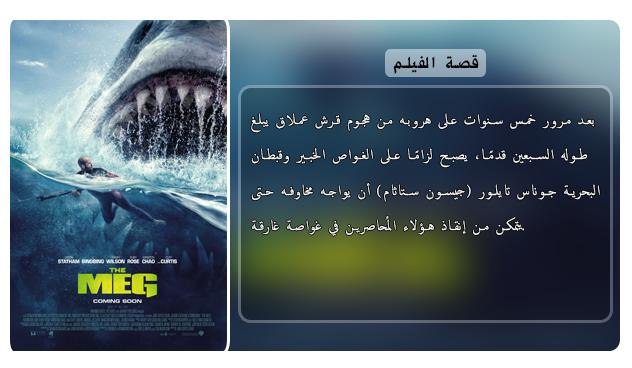 حصريا فيلم الاكشن والرعب والخيال المنتظر The Meg (2018) 720p WEB-DL مترجم بنسخة الويب ديل Aao447