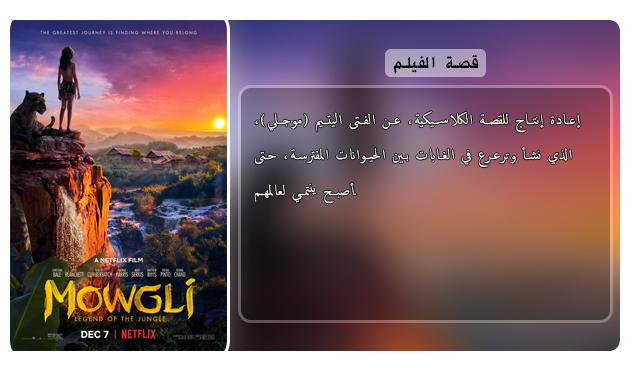 حصريا فيلم المغامرة والدراما الاكثر من رائع Mowgli Legend of the Jungle (2018) 720p  WEB-DL مترجم بنسخة الويب ديل Aao465