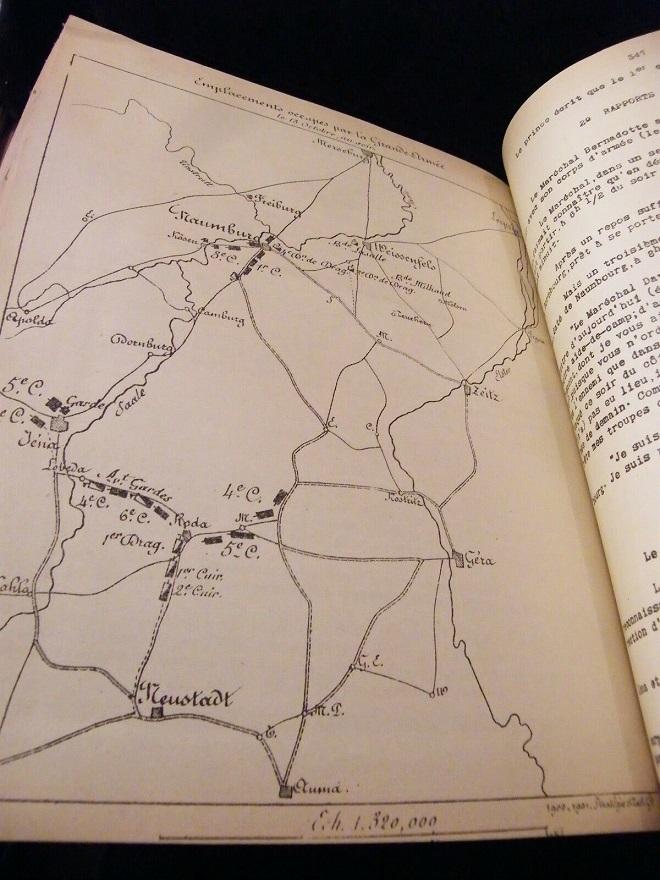 La Manoeuvre d'Iéna Stratégie tactique H.Bonnal 1900 Cartes La_man11