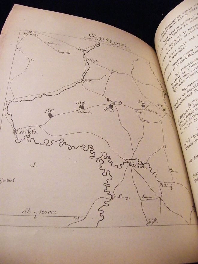 La Manoeuvre d'Iéna Stratégie tactique H.Bonnal 1900 Cartes La_man12